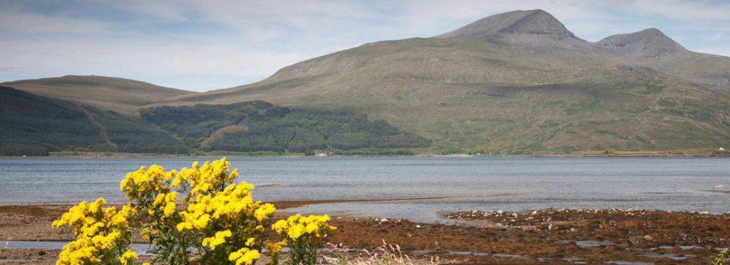 Landscape; Isle of Mull; Scotland, UK